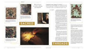 New! Rubin Museum Spiral Magazine Article on Thangka Preservation