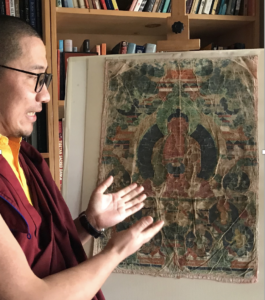 Advice on thangka condition and preservation